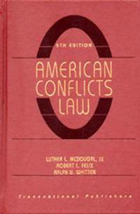 American Conflicts Law, 5th Edition