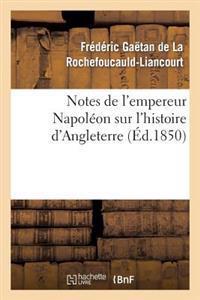 Notes de L'Empereur Napoleon Sur L'Histoire D'Angleterre, Complement Necessaire