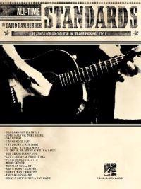 """All-Time Standards: 16 Songs for Solo Guitar in """"Travis Picking"""" Style"""