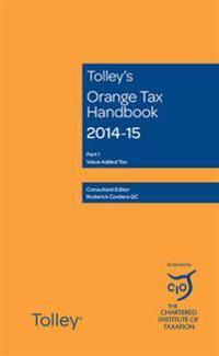 Tolley's Orange Tax Handbook 2014-15
