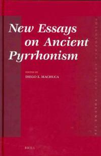 New Essays on Ancient Pyrrhonism