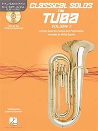 Classical Solos for Tuba (B.C.), Vol. 2: 15 Easy Solos for Contest and Performance