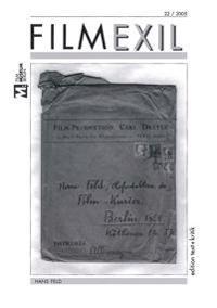 Filmexil 22/2005. Hans Feld