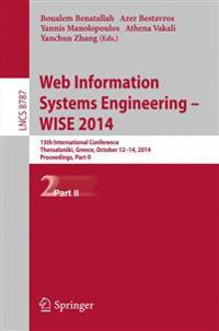 Web Information Systems Engineering - Wise 2014