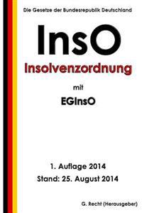 Inso - Insolvenzordnung Mit Eginso