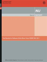 Test Results for Software Write Block Tools: Rcmp Hdl Vo.7