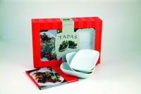 Tapas : startpaket med receptbok, 3 skålar