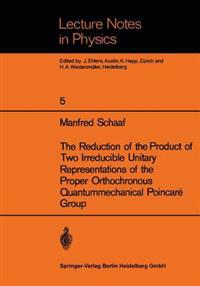 The Reduction of the Product of Two Irreducible Unitary Representations of the Proper Orthochronous Quantummechanical Poincare Group