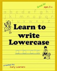 Learn to Write Lowercase