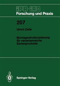 Montagestrukturplanung F�r Variantenreiche Serienprodukte