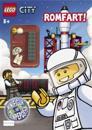 Lego city. Romfart!. 1 hefte. 1 legofigur. 1 poster