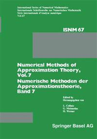 Numerical Methods of Approximation Theory / Numerische Methoden Der Approximationstheorie