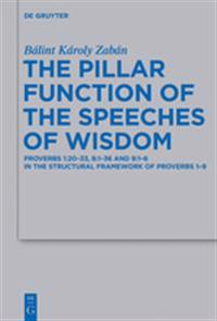 The Pillar Function of the Speeches of Wisdom