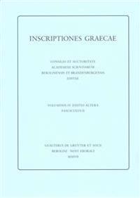 Inscriptiones Graecae / Inscriptiones Argolidis