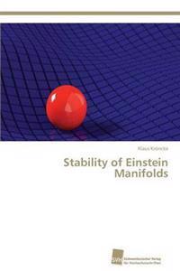 Stability of Einstein Manifolds