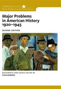 Major Problems in American History, 1920-1945