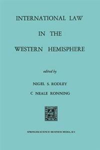 International Law in the Western Hemisphere