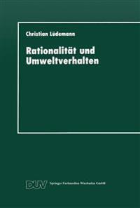 Rationalität Und Umweltverhalten