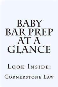 Baby Bar Prep at a Glance: Look Inside!