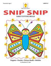 Snip Snip: Early Cutting & Readiness Skills Practice