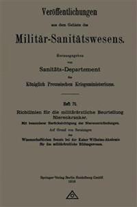 Richtlinien F r Die Milit r rztliche Beurteilung Nierenkranker