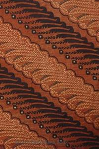 Brown Batik Blank Book