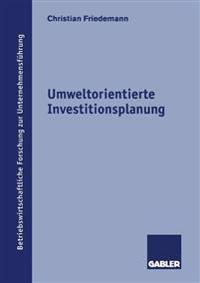 Umweltorientierte Investitionsplanung