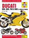 Haynes Ducati 600, 620, 750 & 900 2-valve V-twins '91 to '05 Service and Repair Manual