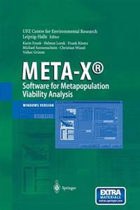 META-X (R)-Software for Metapopulation Viability Analysis