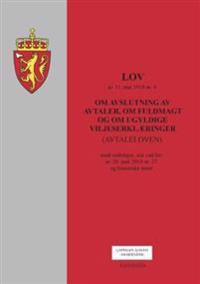 Lov om avslutning av avtaler, om fuldmakt og om ugyldige viljeserklæringer (avtaleloven) av 31. mai 1918 nr. 4