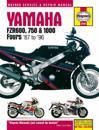 Yamaha FZR 600, 750, 1000 Fours (87 - 96)