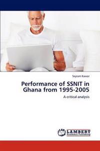 Performance of Ssnit in Ghana from 1995-2005