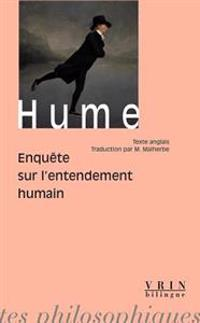 David Hume: Enquete Sur L'Entendement Humain