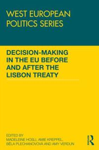 Decision-Making in the EU before and after the Lisbon Treaty