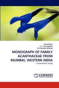 Monograph of Family Acanthaceae from Mumbai, Western India