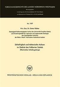 Schiefrigkeit Und Tektonische Achsen Im Gebiet Des Velberter Sattels Rheinisches Schiefergebirge