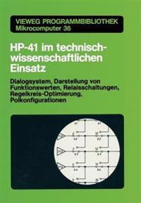 Hp-41 Im Technisch-wissenschaftlichen Einsatz