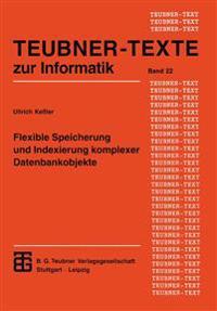 Flexible Speicherung Und Indexierung Komplexer Datenbankobjekte