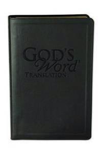 God's Word Handi-size Text Onyx Black Duravella