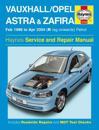 Vauxhall/Opel Astra & Zafira Petrol