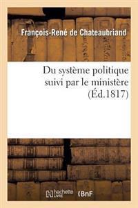 Du Systeme Politique Suivi Par Le Ministere