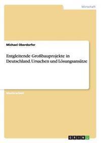 Entgleitende Grobauprojekte in Deutschland. Ursachen Und Losungsansatze