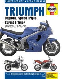 Triumph Daytona, Speed Triple, Sprint & Tiger 885/955cc '97 to '05