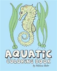 Aquatic Coloring Book