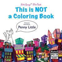 This Is Not a Coloring Book: Little Savage Mini Book