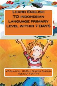 Learn English to Indonesian Language Primary Level Within 7 Days