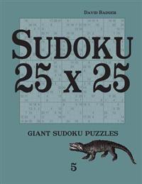 Sudoku 25 X 25: Giant Sudoku Puzzles 5