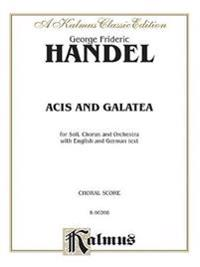 Acis and Galatea (1719): Sattb with Sttb Soli (French, English Language Edition)