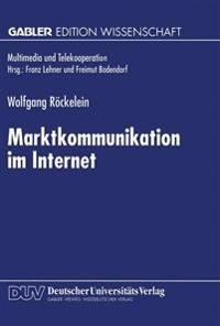 Marktkommunikation Im Internet