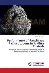 Performance of Panchayat Raj Institutions in Andhra Pradesh